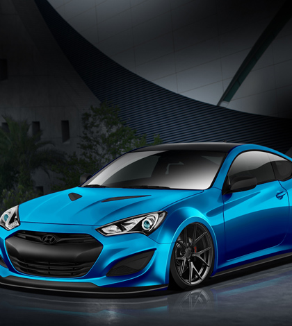 John Pangilinan customizes Hyundai Genesis Coupe for SEMA