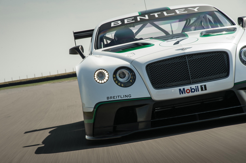 Bentley Continental GT3 debutará en Abu Dabi