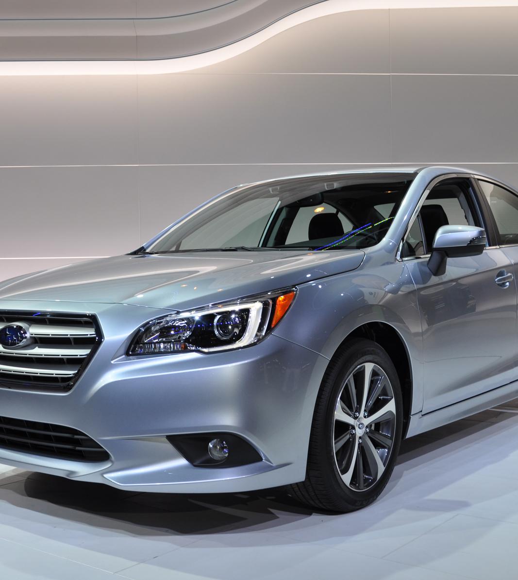 2015 Subaru Legacy sets its sights on Honda and Toyota